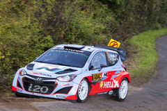 Thierry Neuville at ADAC Rally Deutschland 2014 Stock Photos