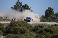 Thierry Neuville, Hyundai Motorsport WRT,  Portugal Rally 2017 Stock Photo