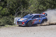 Thierry Neuville, Hyundai Motorsport WRT,  Portugal Rally 2017 Royalty Free Stock Images