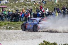 Thierry Neuville, Hyundai Motorsport WRT,  Portugal Rally 2017 Stock Image