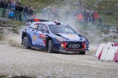 Thierry Neuville, Hyundai Motorsport WRT, Portugalia wiec 2017 Obrazy Stock
