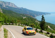 Thierry Neuville on IRC Yalta Rally 2011 Stock Images