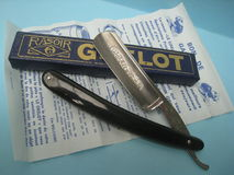 Thiers grelot chou coupe rasoir прямой бритвы винтажные Стоковое Фото