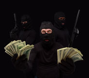 Free Thieves In Masks Royalty Free Stock Images - 71198889