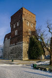 Thieves Tower of the Wawel castle, Krakow Royalty Free Stock Image