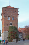 Thieves Tower of Wawel castle in Krakow, Poland Royalty Free Stock Photo