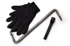 Thieving accessories Stock Photos
