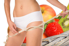 Thigh circumference Royalty Free Stock Photography