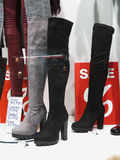 Thigh high boots Royalty Free Stock Photos