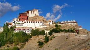 Thiksay kloster, Ladakh, Jammu and Kashmir, Indien arkivbild