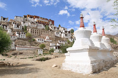 Thikse Monastery, Ladakh, India Royalty Free Stock Image