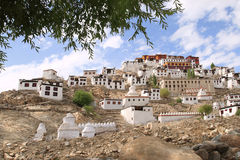 Thikse Monastery, Ladakh, India Royalty Free Stock Photos