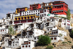 Thikse Monastery. Thiksey Gompa or Thikse Monastery, the Tibetan Buddhist monastery of the Yellow Hat (Gelugpa), Ladakh, India Stock Image