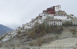 Thiksey修道院在Leh 库存图片