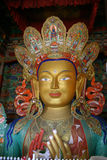 Thiksey Buddha Immagini Stock