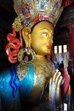 thiksey för maitreya för buddha gompaladakh Royaltyfri Fotografi