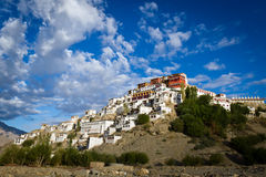 Thiksey Gompa Royalty Free Stock Photo