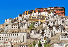 Thiksey gompa Stock Photo