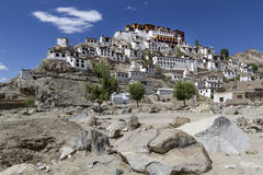 Thiksey Gompa In Ladakh, India Royalty Free Stock Images