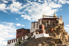Thiksey Gompa in Ladakh, India Royalty Free Stock Photo