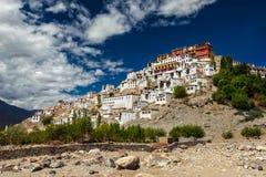 Thiksey Gompa, Ladakh, Indien Lizenzfreie Stockfotos