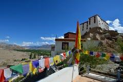 Thiksey kloster i Ladakh, Indien Arkivfoto
