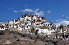 Thiksey monaster w Ladakh, India obraz royalty free