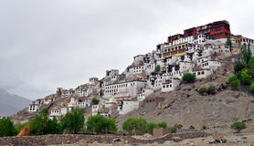Thiksey monastery Stock Images