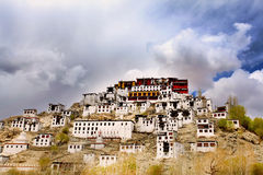 Thiksey monastery Stock Image