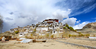 Thiksey monastery Stock Photography