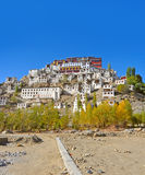 Thiksey monastery Royalty Free Stock Photography
