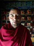 Thiksey Monastery Buddhist Monk Stock Photos