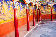 Thiksey Monastery, Ladakh,India Royalty Free Stock Photos