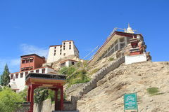 Thiksey Monastery, Ladakh. Royalty Free Stock Photography