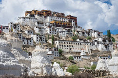 Thiksey Monastery in Ladakh, India Stock Images