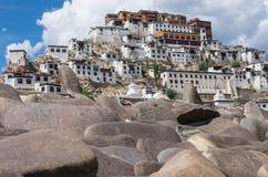 Thiksey Monastery in Ladakh, India Stock Photos