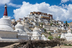Thiksey Monastery in Ladakh, India Royalty Free Stock Photography