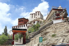 Thiksey Monastery, Ladakh,India. Royalty Free Stock Image