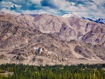 Thiksey monastery. Ladakh, India Royalty Free Stock Images