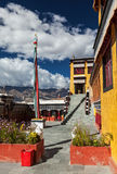 Thiksey monastery. Ladakhm, India Stock Photos