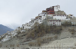 Thiksey monastery in Leh Stock Images