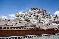 Thiksey monastery in Leh, Ladakh, India Stock Photo