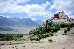 Thiksey monastery in Leh, Ladakh, India Royalty Free Stock Images