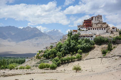 Thiksey monastery in Leh, Ladakh, India Royalty Free Stock Photography