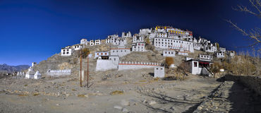Thiksey monastery Royalty Free Stock Image