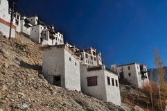 Thiksey monastery Stock Photo