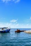 Thilafushi - le Maldive Immagini Stock Libere da Diritti