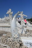 Thiland Wat Rong Khun, White Temple Stock Photography
