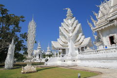 Thiland Wat Rong Khun, White Temple Stock Images