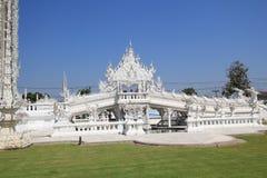 Thiland Wat Rong Khun, White Temple Royalty Free Stock Image